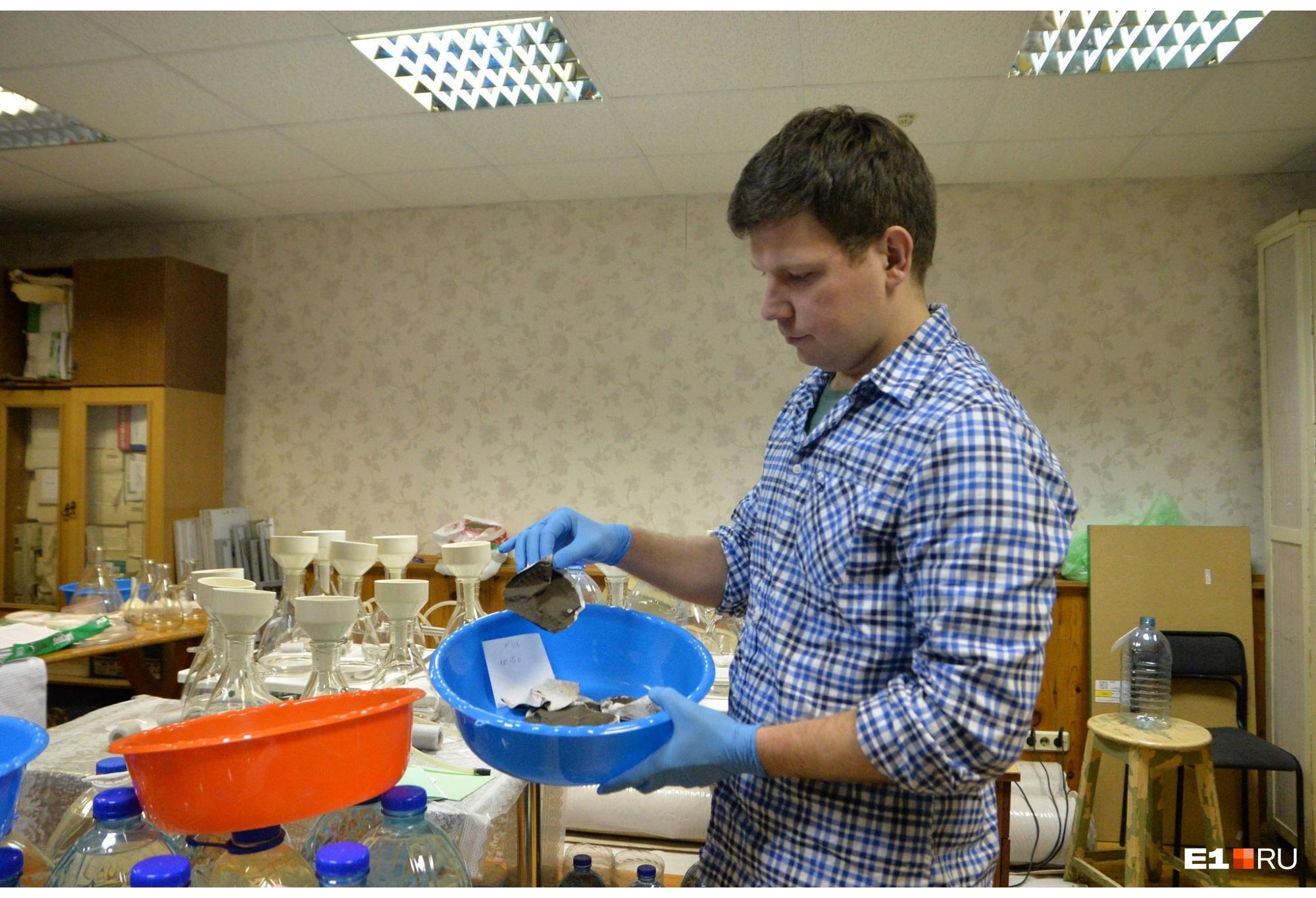 Все работы ученые ведут в лаборатории, которая находится в Екатеринбурге