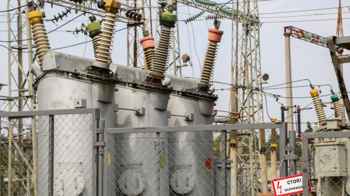 Частный сектор Кировского района Волгограда оставили без света до конца дня