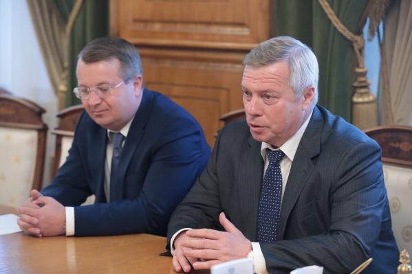 Замгубернатора Василий Рудой был пять лет