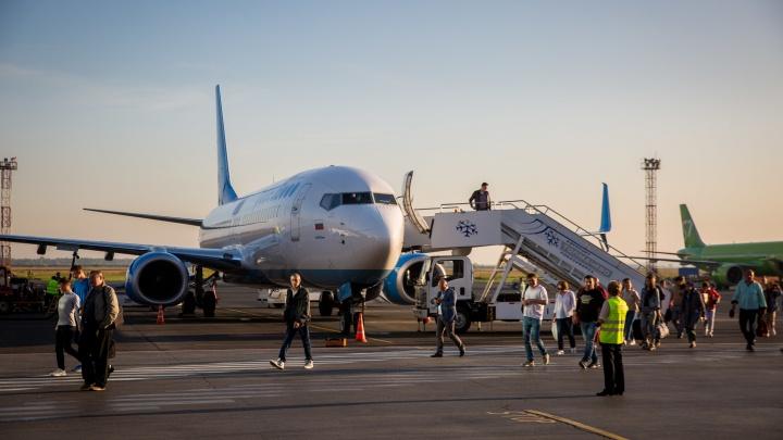 Еще одна авиакомпания возобновила рейсы из Кемерово