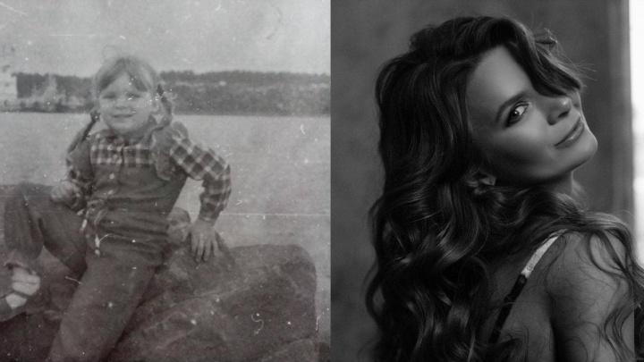 Из пухлощёких малышей — в красавцев. Сибиряки показали, как выглядели в детстве и как сейчас (13 милых фото)