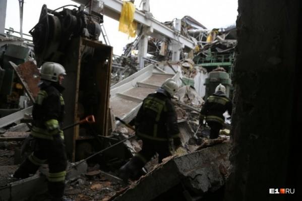 Под завалами погибли четыре человека