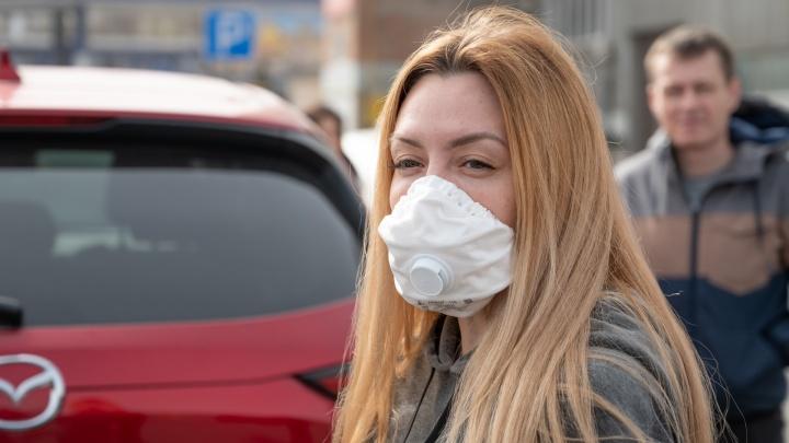 Инфографика: где нужно носить маску в Самарской области
