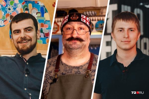 Предприниматели Юрий Жук,Заза Карчхадзе и Владислав Джурович рассказали о трудностях в бизнесе