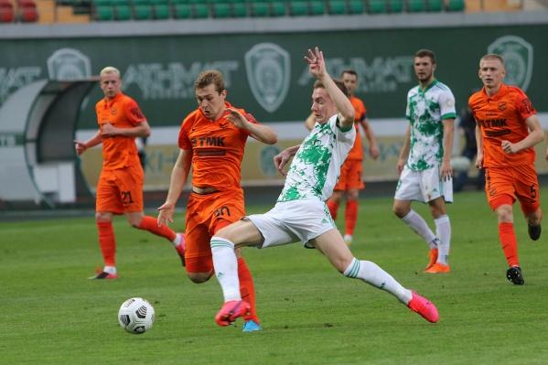 Футболистам «Урала» не удалось одержать победу над«Ахматом»