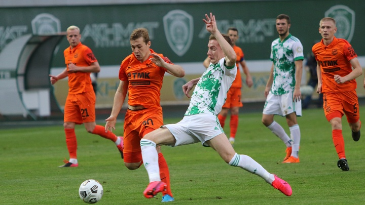 Футболисты «Урала» потерпели поражение в матче с «Ахматом» в Грозном