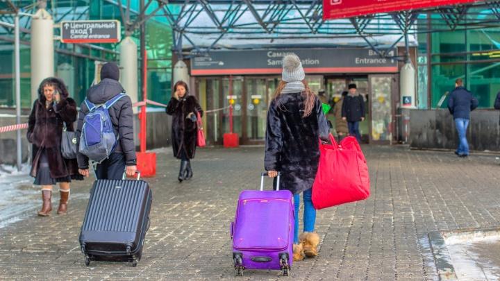 На железнодорожном вокзале Самары будут досматривать пассажиров электричек