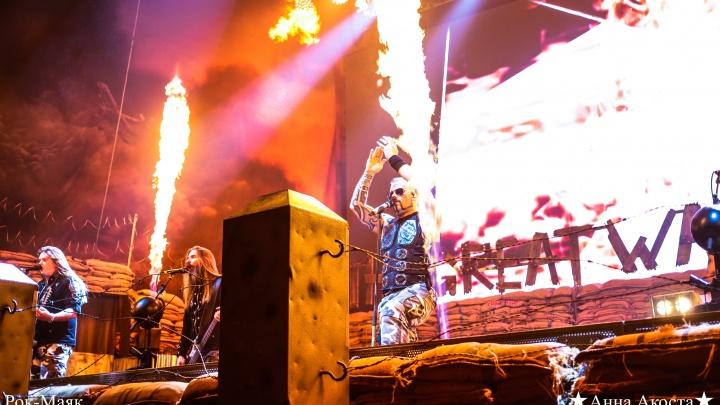 В Екатеринбурге отказались отменить масштабный концерт культовых хеви-металистов Sabaton
