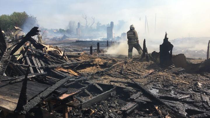 Пострадавших от пожара в Яицком цыган разместят в школе