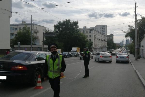 ДТП произошло на улице Куйбышева у дома № 99