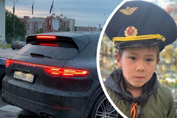 По словам мамы ребёнка, агрессивный мужчина передвигался на этом автомобиле