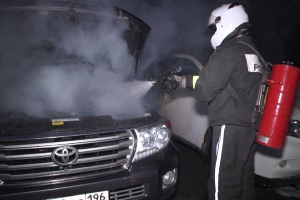 С начала года в регионе сгорело больше четырех сотен автомобилей