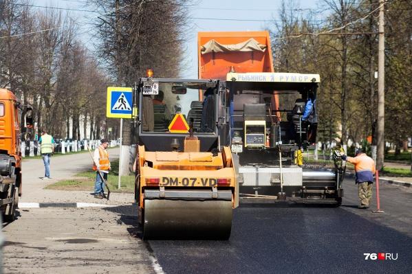 В этом году ремонт дорог в Ярославле начнётся на два месяца раньше, чем в 2019-м
