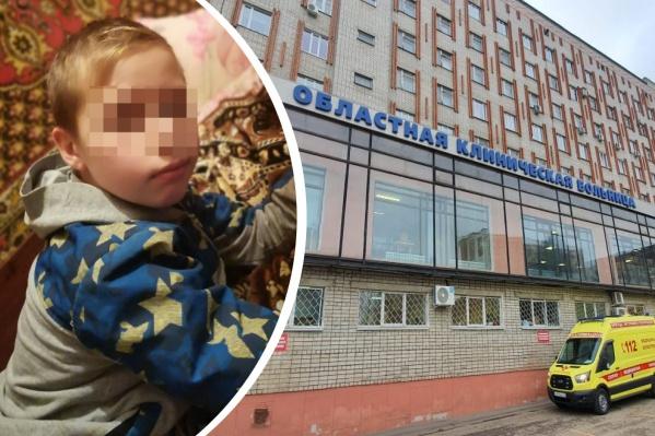12-летний Саша находится под пристальным вниманием врачей областной больницы