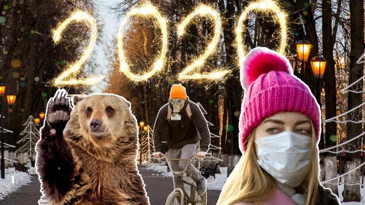 Выкуси, 2020-й! Как мы пережили этот трудный год — в одном видео