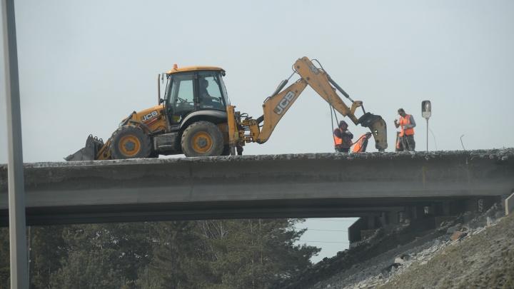 Из-за ремонта моста на все лето ограничат проезд по Челябинскому тракту