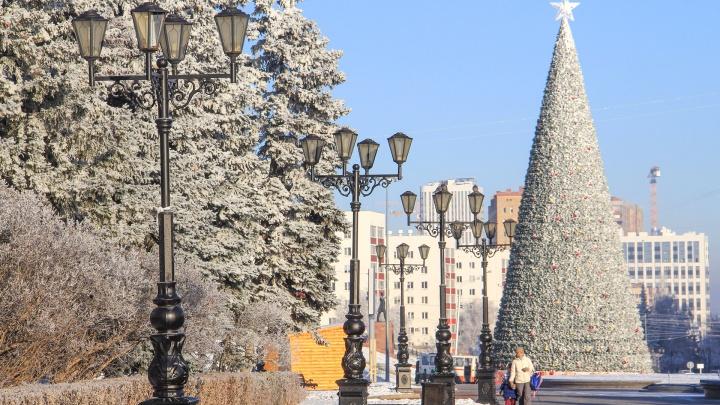 Стало известно, где еще в Уфе появятся новогодние елки