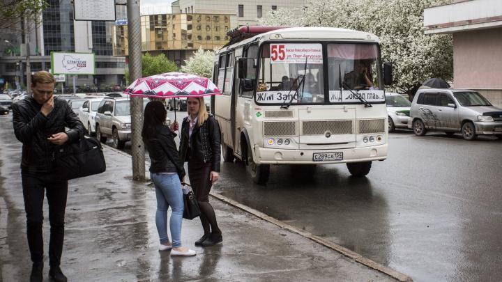 Власти решили поставить на новосибирские автобусы камеры — они будут фиксировать нарушителей ПДД