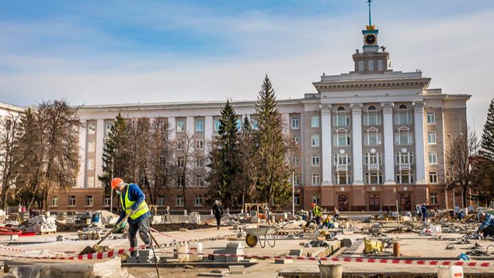 В администрации Уфы рассказали, на каком этапе находится реконструкция главной площади города