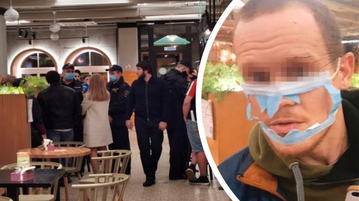Отказались обслуживать: в Ярославле посетитель в порванной маске устроил скандал в ресторане