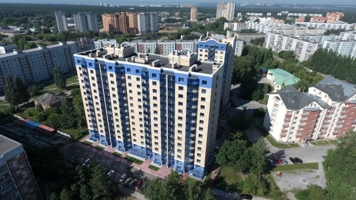 В Академгородке рядом с одной из лучших школ в стране построили настоящий бизнес-класс с квартирами до 155 квадратов