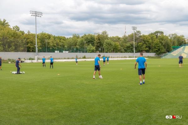 Сейчас «Крылья» тренируются, чтобы вернуться в Премьер-лигу