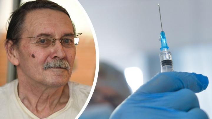 «Вымрем, оставив накопления в пенсионном фонде»: журналист в коляске — о вакцинации от коронавируса