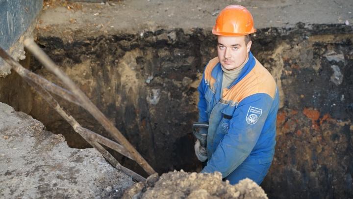 За этот год «Ярославльводоканал» проложил почти 5 тысяч метров новых коммуникаций