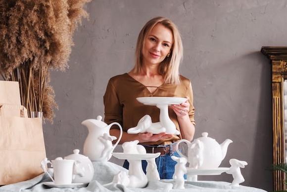 Фарфор ручной работы — не просто посуда, а искусство