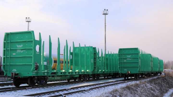За полгода «Архбум» увеличило объем перевозок по железной дороге на 18,8%