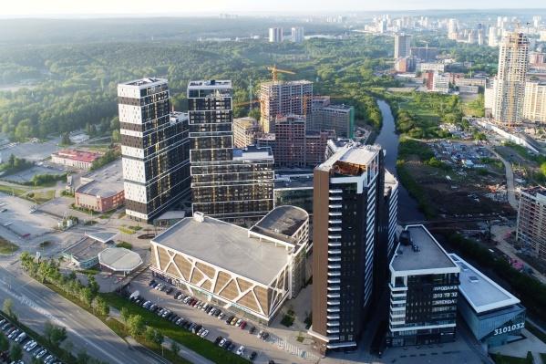 Уникальный кварталClever park находится в одном из самых хороших микрорайонов города — в Парковом
