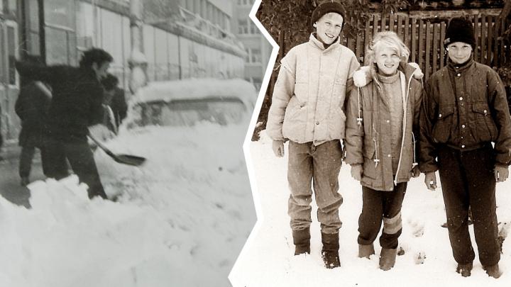 Рано прощаться с зимой: вспоминаем, как Урал заваливало снегом в мае и июне