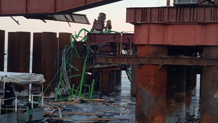 Искать погибших при строительстве моста у Климовки будут водолазы
