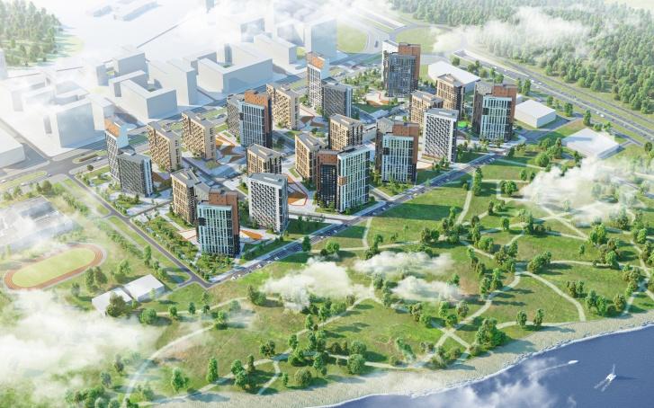 На ВИЗе-Правобережном «ЛСР» застроит участок площадью 14 гектаров