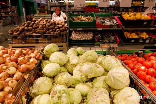 Меньше всего падение цен отразилось на стоимости капусты