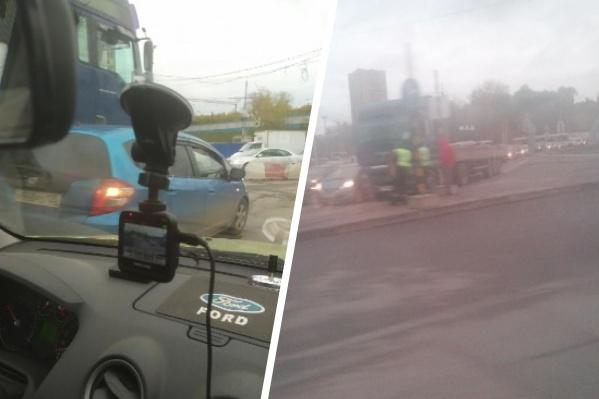 Водители не скупились на замечания в сторону участников аварии в сервисе2gis