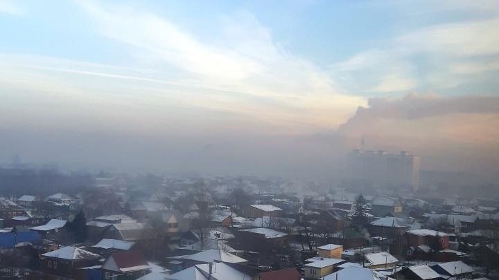 В Минприроды объяснили, кто виноват во вчерашнем загрязнении воздуха