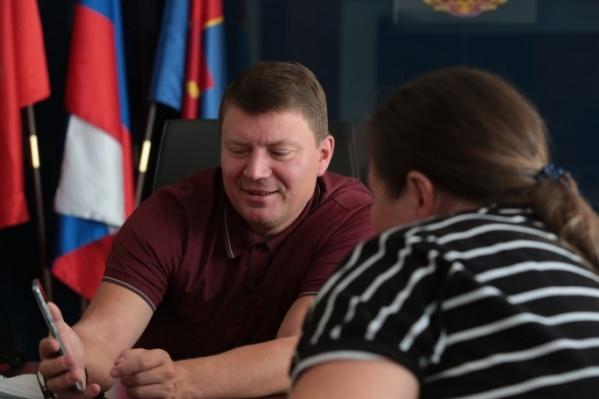 Сергей Еремин в ближайшее время будет работать из дома