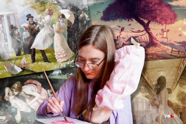 Василису сбила машина, когда девушка готовилась к экзаменам в художественный вуз