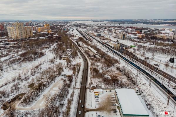 Напротив станции Пермь II планируют создать новый транспортно-пересадочный узел