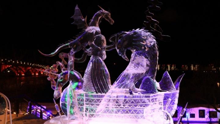 В Красноярске отменили «Волшебный лед Сибири»