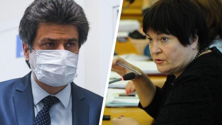 «Мы с ней вчера ещё разговаривали»: мэр — о смерти Елены Дерягиной и опасности COVID-19