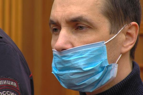 Констанин Андреев вину в заказном убийстве не признал
