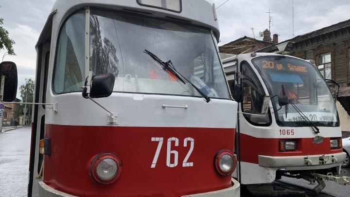Стало известно, когда трамваи вернут на Хлебную площадь