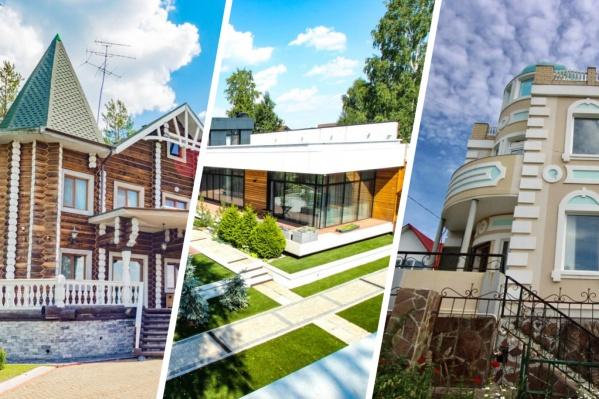 Самый дорогой дом и земля под ним из нашей подборки стоят 180 миллионов рублей
