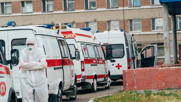 В Омске за последние сутки от коронавируса умерли пять человек