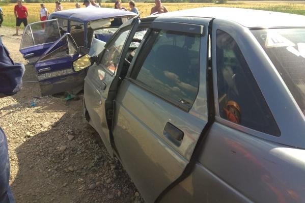 В результате аварии погибла пассажирка «десятки», ещё трое взрослых и двое детей получили травмы