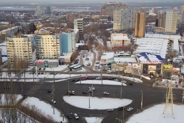 Новая дорога свяжет Московское шоссе и Ново-Садовую
