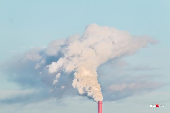 Вредные выбросы фиксируют на двух территориях 63-го региона