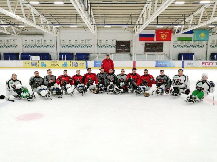 Сборная по следж-хоккею Башкортостана, где играет Никита Беляев
